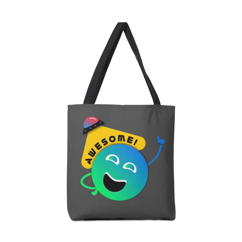Awesome Planet! Accessories Tote Bag Bag by ashleysladeart's Artist Shop