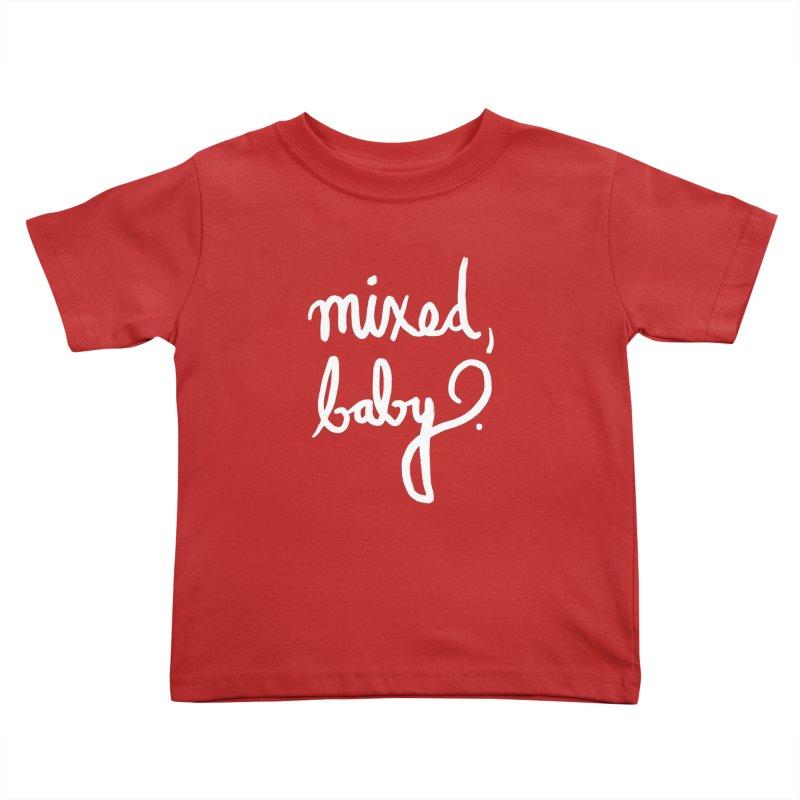 Mixed, Baby. Kids Toddler T-Shirt by Ashley Topacio's Threadless Shop