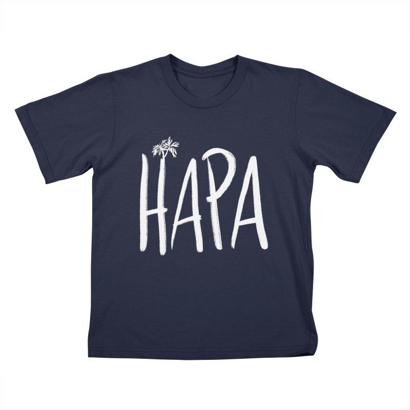 Hapa Palms Kids T-Shirt by Ashley Topacio's Threadless Shop