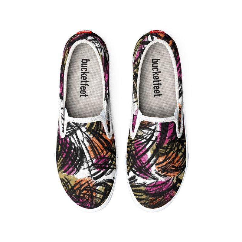 Palm Warm Men's Shoes by Ashley Topacio's Threadless Shop