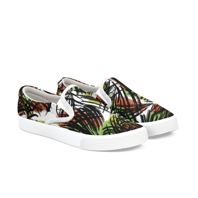 Palm Green Men's Shoes by Ashley Topacio's Threadless Shop