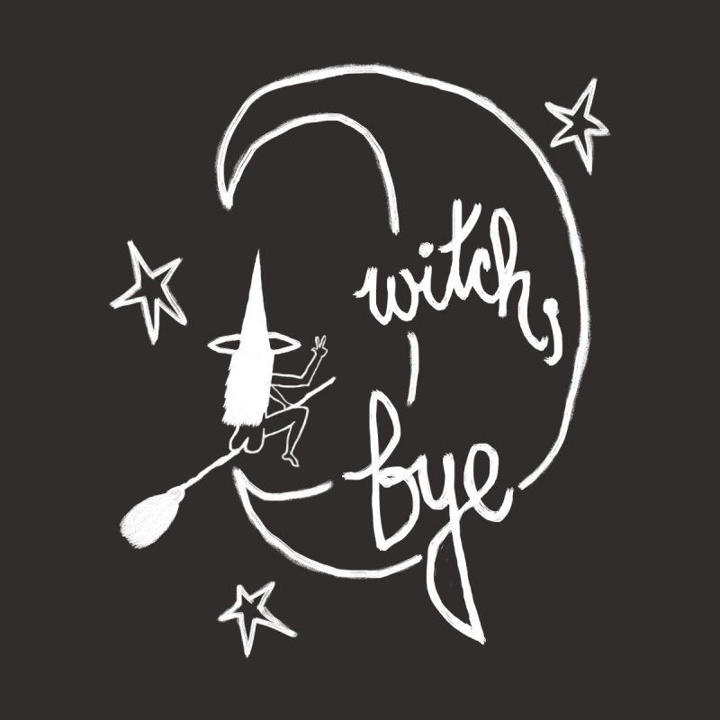 Witch, Bye (white) by Ashley Topacio's Artist Shop