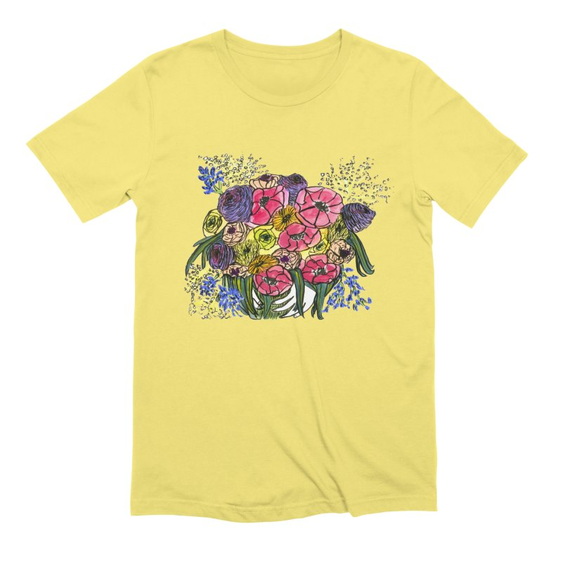 Sorry This Is Happening To You Bouquet Men's T-Shirt by Ashley Topacio's Artist Shop
