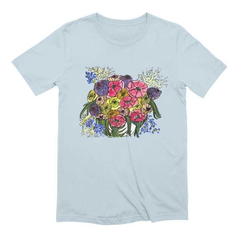 Sorry This Is Happening To You Bouquet Men's T-Shirt by Ashley Topacio's Threadless Shop