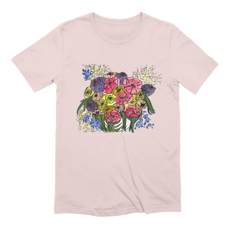 Sorry This Is Happening To You Bouquet Men's Extra Soft T-Shirt by Ashley Topacio's Artist Shop