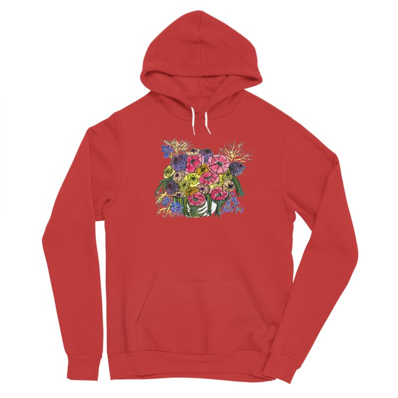 Sorry This Is Happening To You Bouquet Women's Pullover Hoody by Ashley Topacio's Threadless Shop