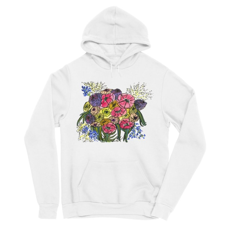 Sorry This Is Happening To You Bouquet Men's Sponge Fleece Pullover Hoody by Ashley Topacio's Artist Shop