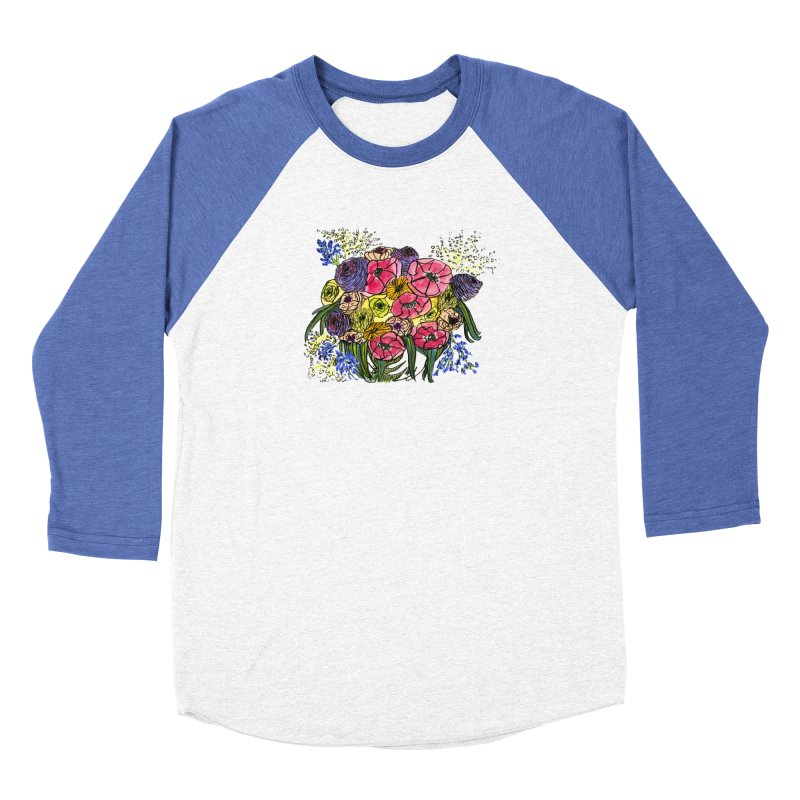 Sorry This Is Happening To You Bouquet Women's Longsleeve T-Shirt by Ashley Topacio's Threadless Shop
