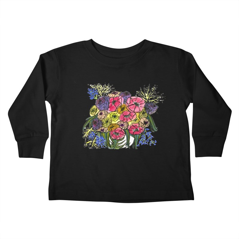 Sorry This Is Happening To You Bouquet Kids Toddler Longsleeve T-Shirt by Ashley Topacio's Artist Shop