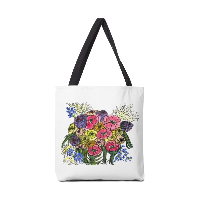 Sorry This Is Happening To You Bouquet Accessories Bag by Ashley Topacio's Threadless Shop