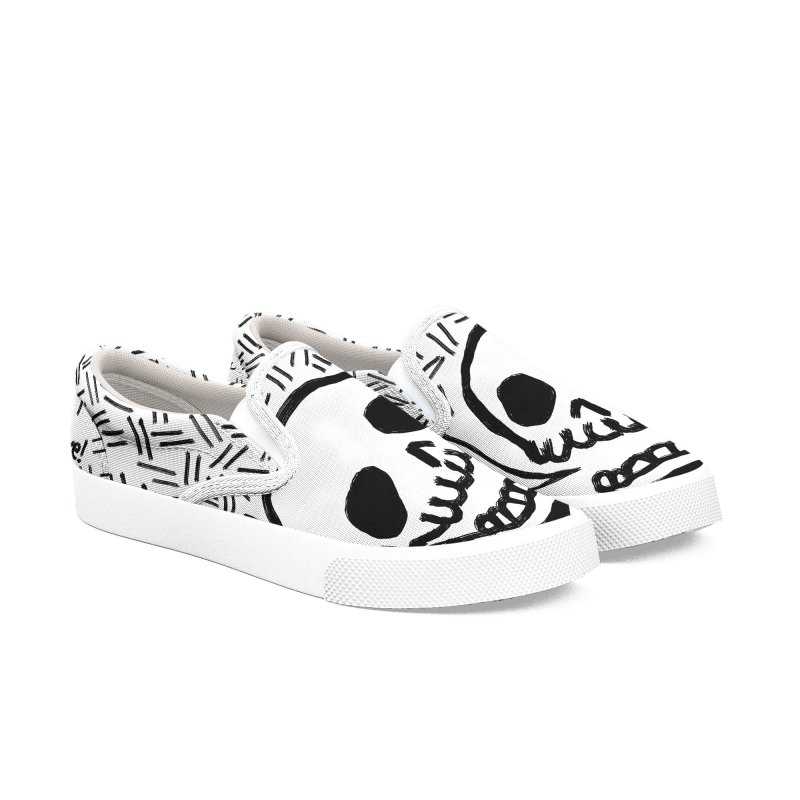Yay Love! Men's Slip-On Shoes by Ashley Topacio's Artist Shop