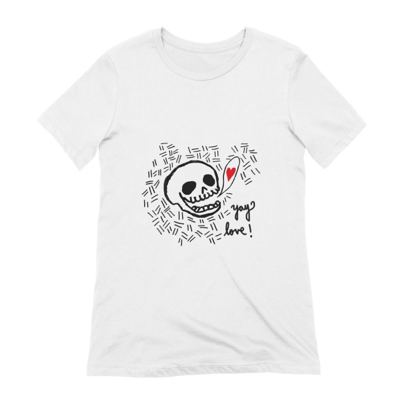 Yay Love! Women's Extra Soft T-Shirt by Ashley Topacio's Artist Shop