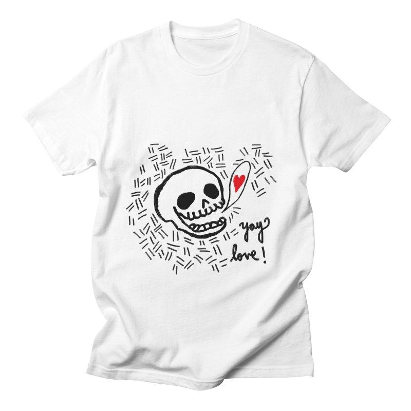 Yay Love! Men's T-Shirt by Ashley Topacio's Threadless Shop