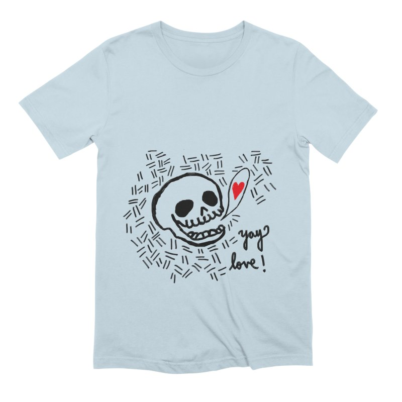 Yay Love! Men's Extra Soft T-Shirt by Ashley Topacio's Artist Shop