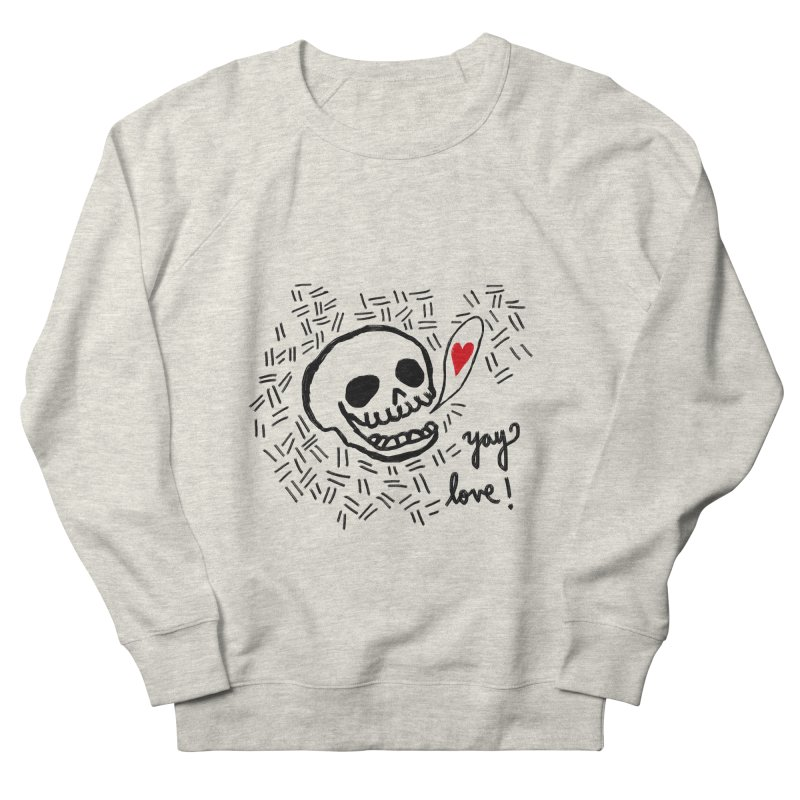 Yay Love! Women's Sweatshirt by Ashley Topacio's Threadless Shop