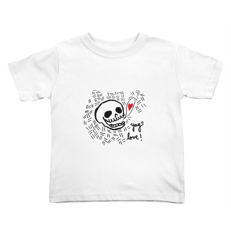 Yay Love! Kids Toddler T-Shirt by Ashley Topacio's Threadless Shop