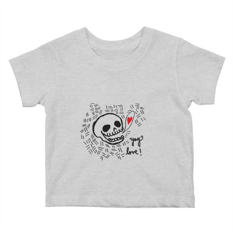 Yay Love! Kids Baby T-Shirt by Ashley Topacio's Artist Shop