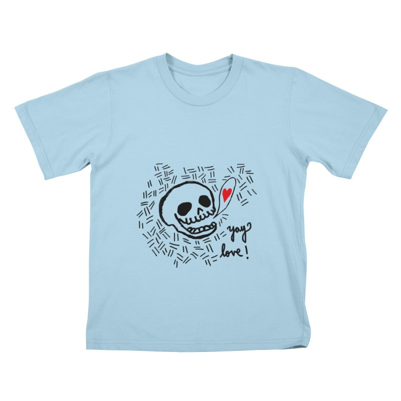 Yay Love! Kids T-Shirt by Ashley Topacio's Artist Shop