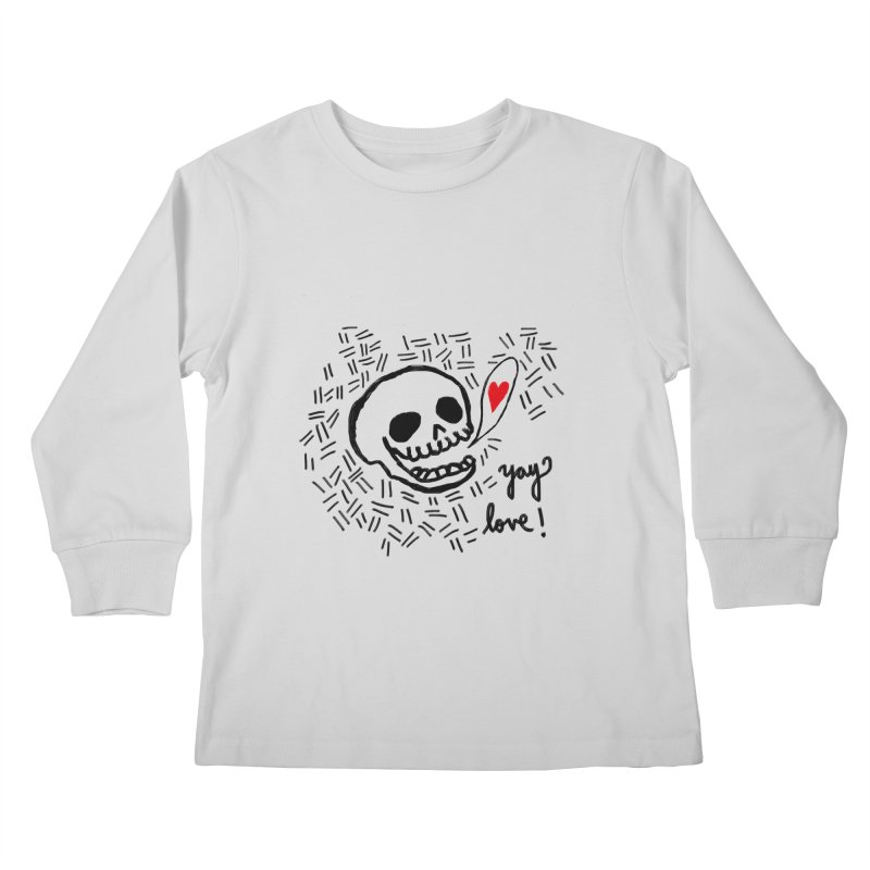 Yay Love! Kids Longsleeve T-Shirt by Ashley Topacio's Threadless Shop