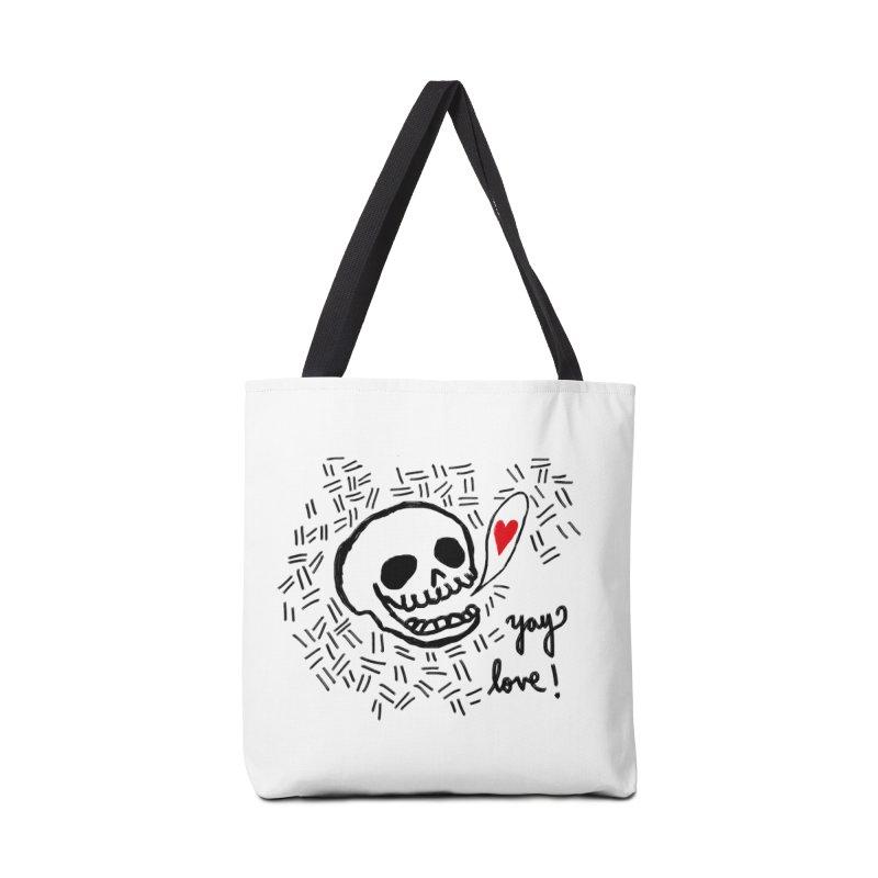 Yay Love! Accessories Bag by Ashley Topacio's Threadless Shop