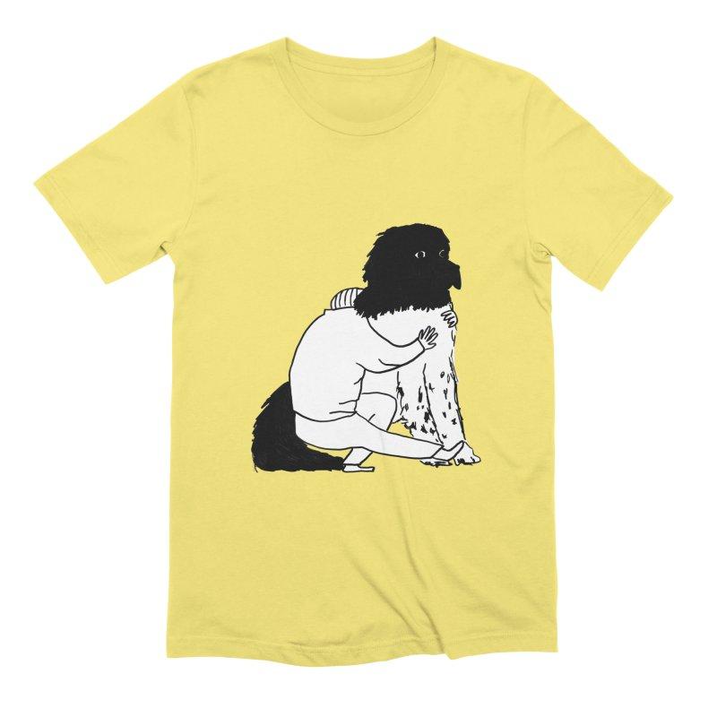 I Like Big Mutts... Men's T-Shirt by Ashley Topacio's Artist Shop