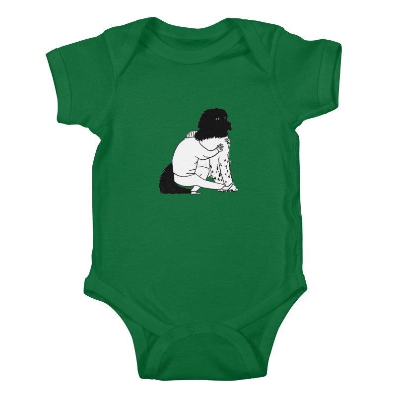 I Like Big Mutts... Kids Baby Bodysuit by Ashley Topacio's Threadless Shop