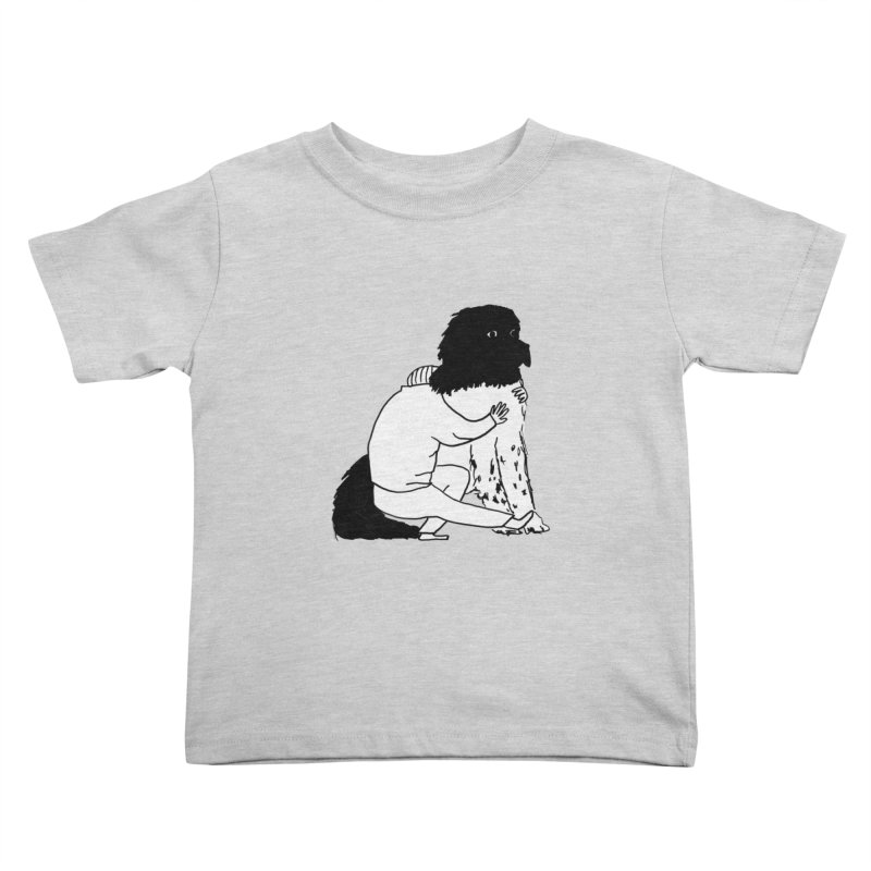 I Like Big Mutts... Kids Toddler T-Shirt by Ashley Topacio's Artist Shop