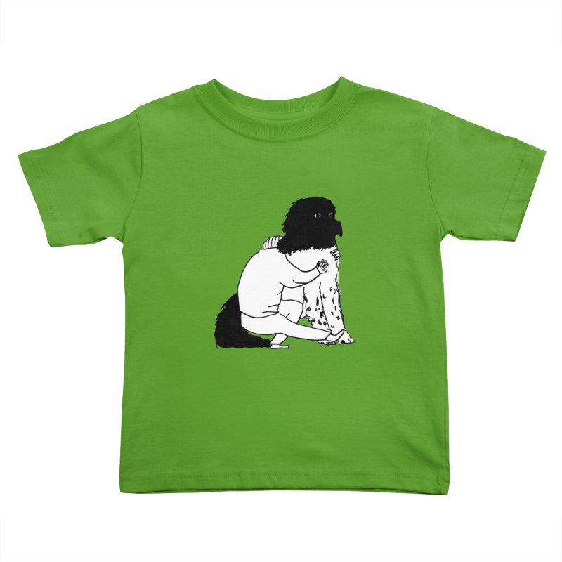 I Like Big Mutts... Kids Toddler T-Shirt by Ashley Topacio's Artist Shop