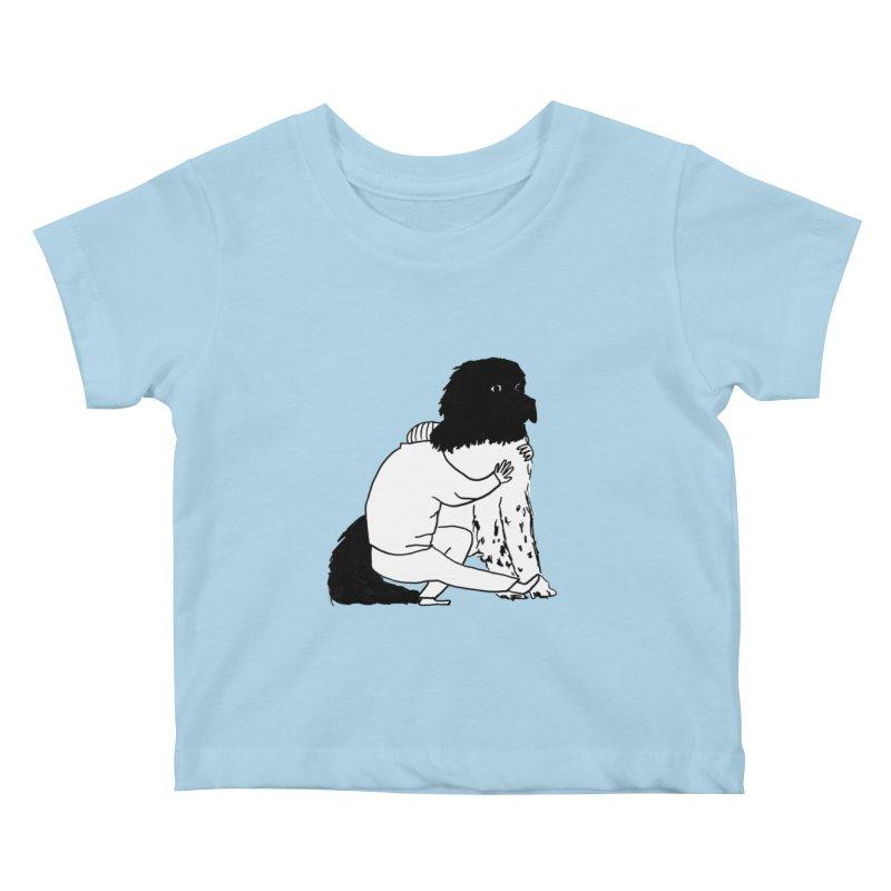 I Like Big Mutts... Kids Baby T-Shirt by Ashley Topacio's Artist Shop