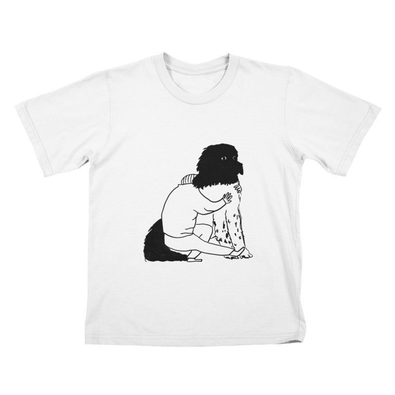I Like Big Mutts... Kids T-Shirt by Ashley Topacio's Threadless Shop