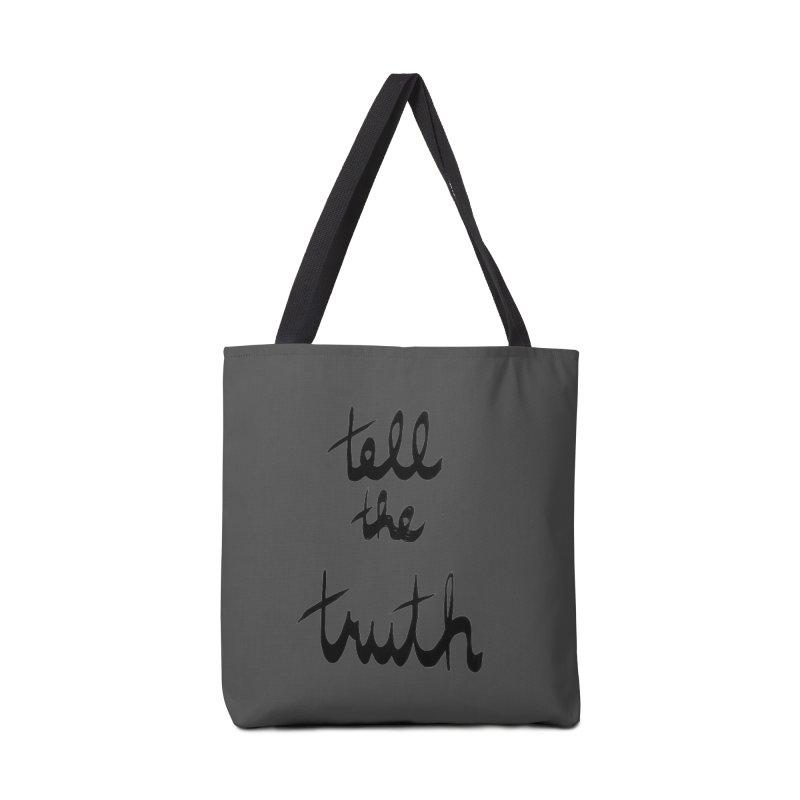 Tell the Truth Accessories Bag by Ashley Topacio's Threadless Shop