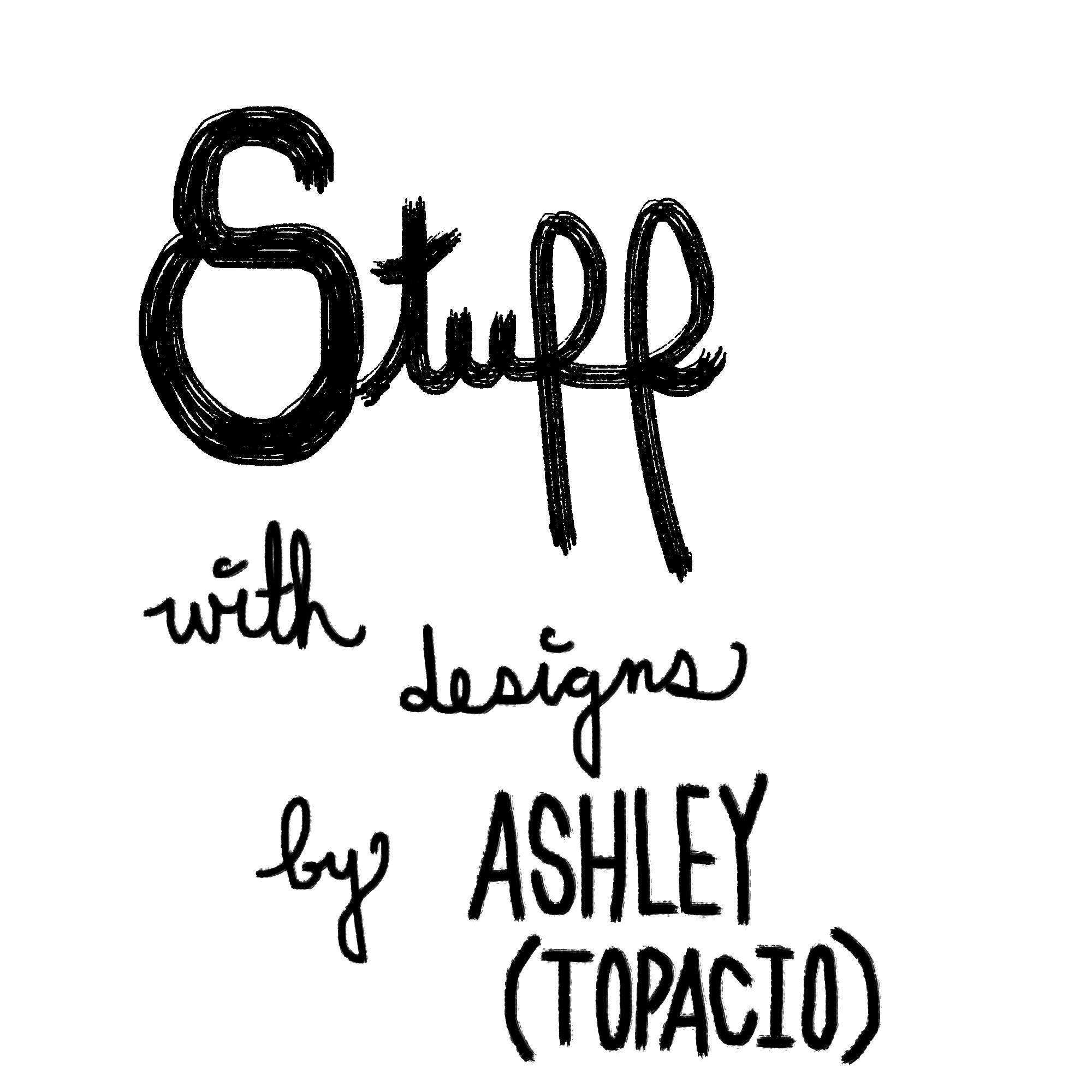 Ashley Topacio's Artist Shop Logo