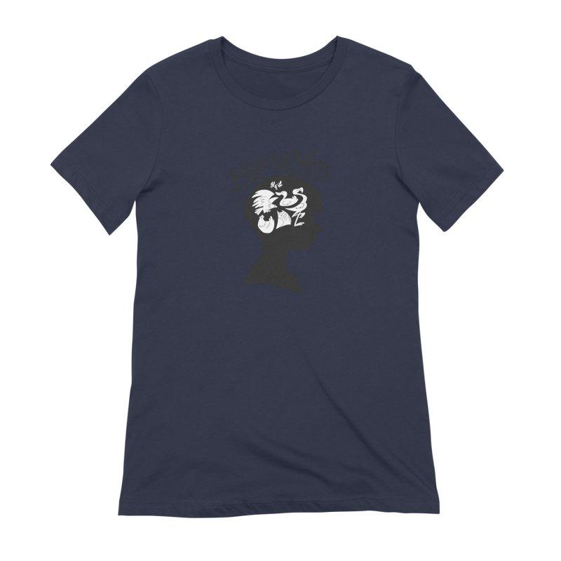 Bird-Brained Women's Extra Soft T-Shirt by ashsans art & design shop