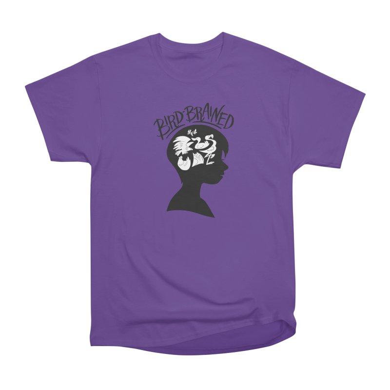 Bird-Brained Women's Heavyweight Unisex T-Shirt by ashsans art & design shop