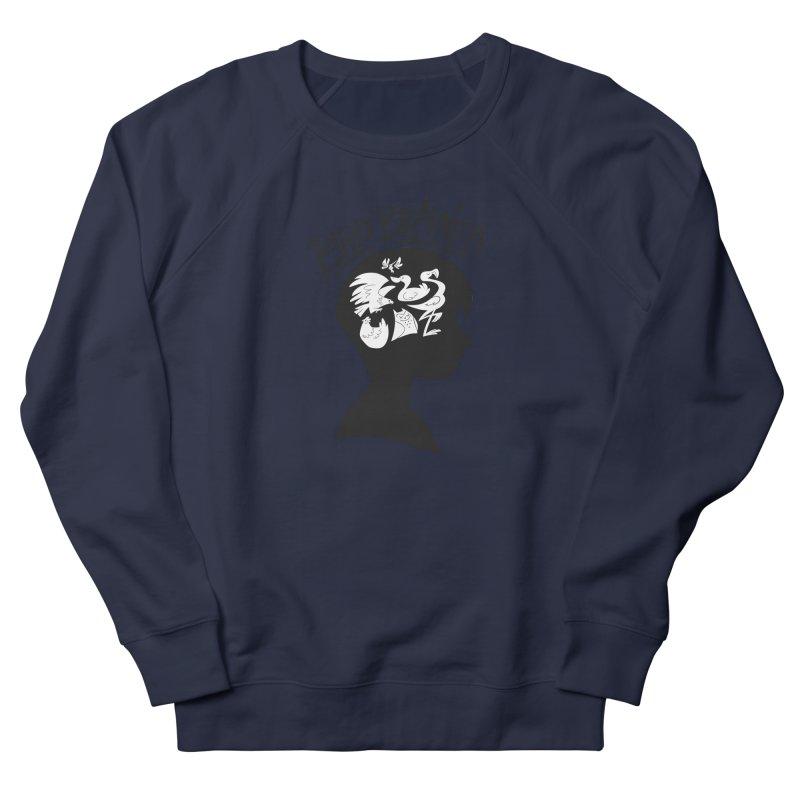 Bird-Brained Women's French Terry Sweatshirt by ashsans art & design shop