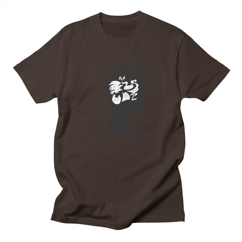 Bird-Brained Men's Regular T-Shirt by ashsans art & design shop