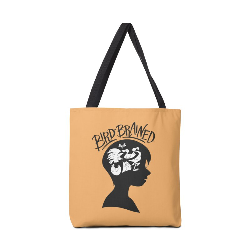 Bird-Brained Accessories Bag by ashsans art & design shop