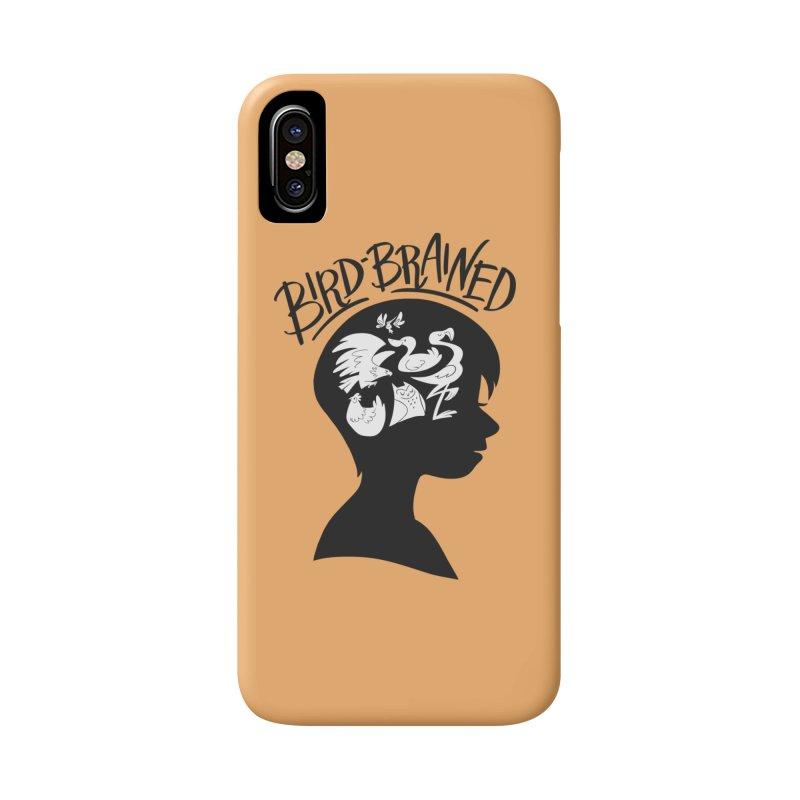 Bird-Brained Accessories Phone Case by ashsans art & design shop