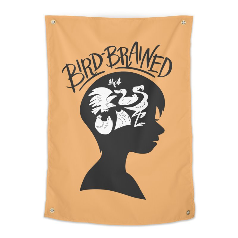 Bird-Brained Home Tapestry by ashsans art & design shop
