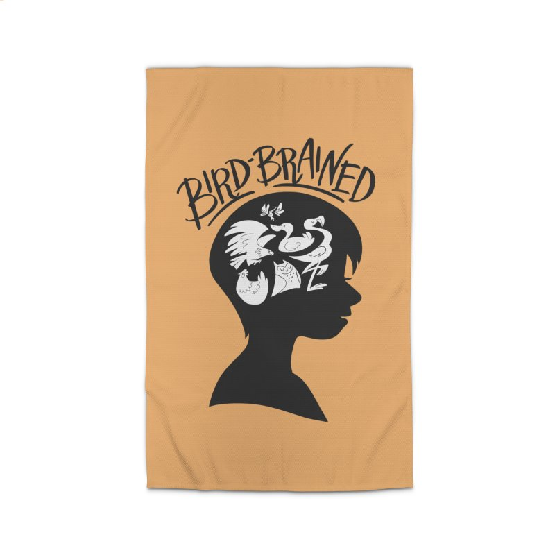 Bird-Brained Home Rug by ashsans art & design shop