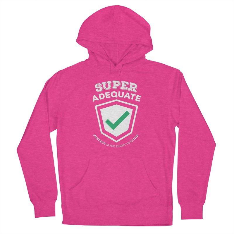 Super Adequate (light) Men's Pullover Hoody by ashsans art & design shop