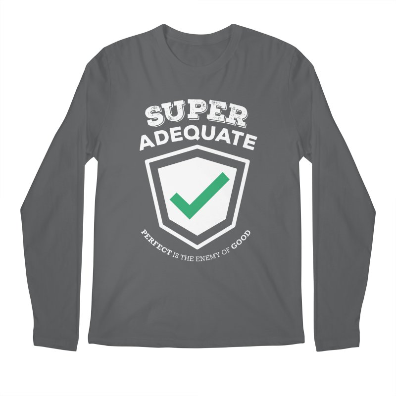 Super Adequate (light) Men's Regular Longsleeve T-Shirt by ashsans art & design shop