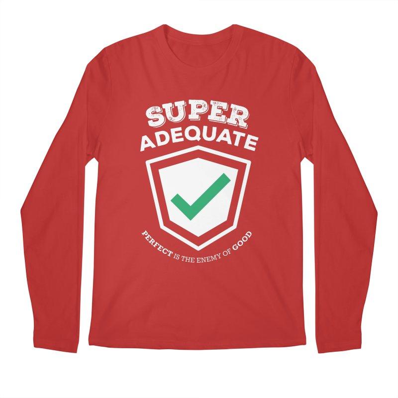 Super Adequate (light) Men's Regular Longsleeve T-Shirt by ashsans art & design shop