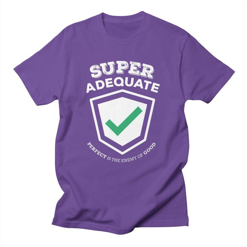 Super Adequate (light) Men's T-Shirt by ashsans art & design shop