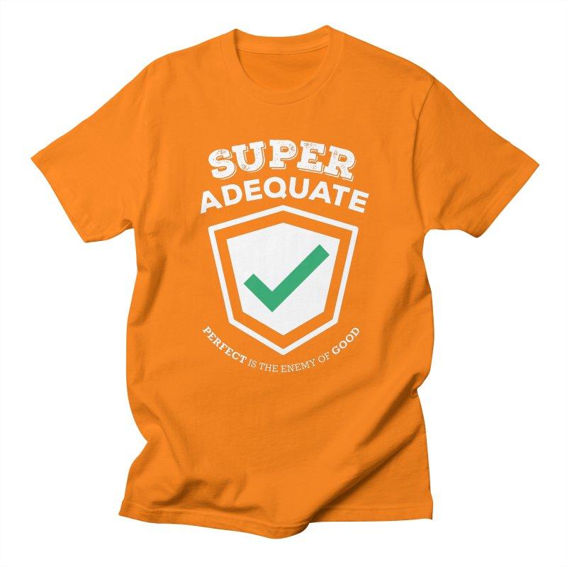 Super Adequate (light) Men's Regular T-Shirt by ashsans art & design shop
