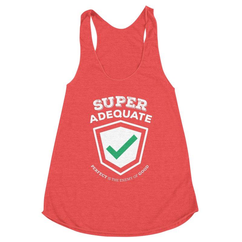 Super Adequate (light) Women's Tank by ashsans art & design shop