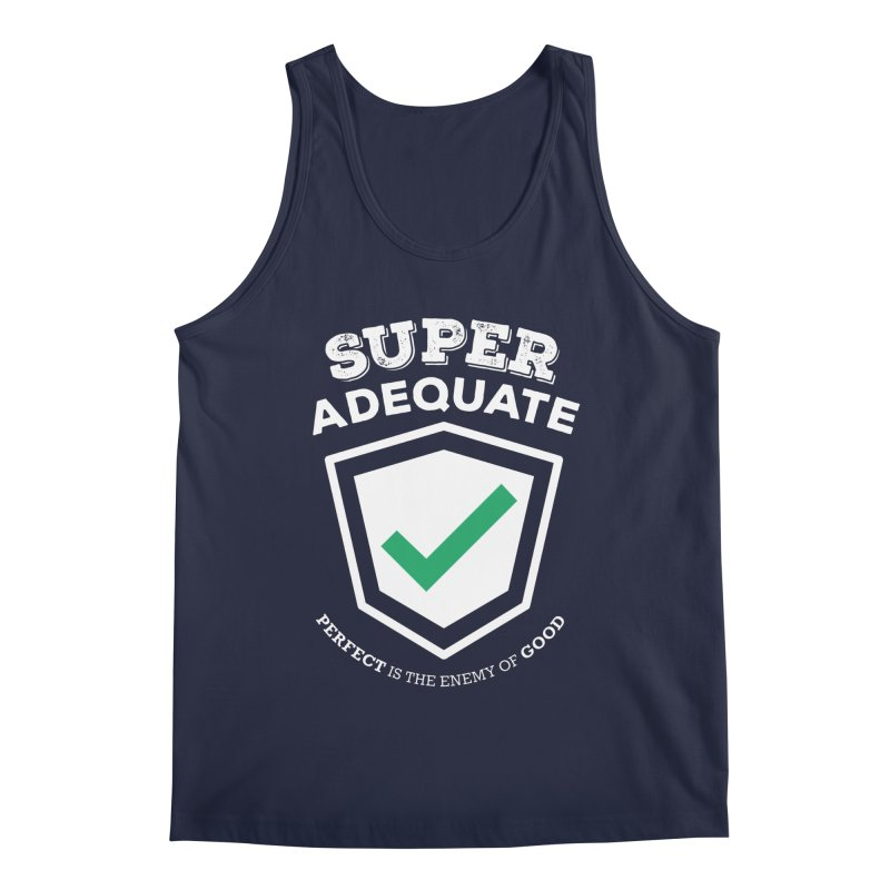 Super Adequate (light) Men's Regular Tank by ashsans art & design shop