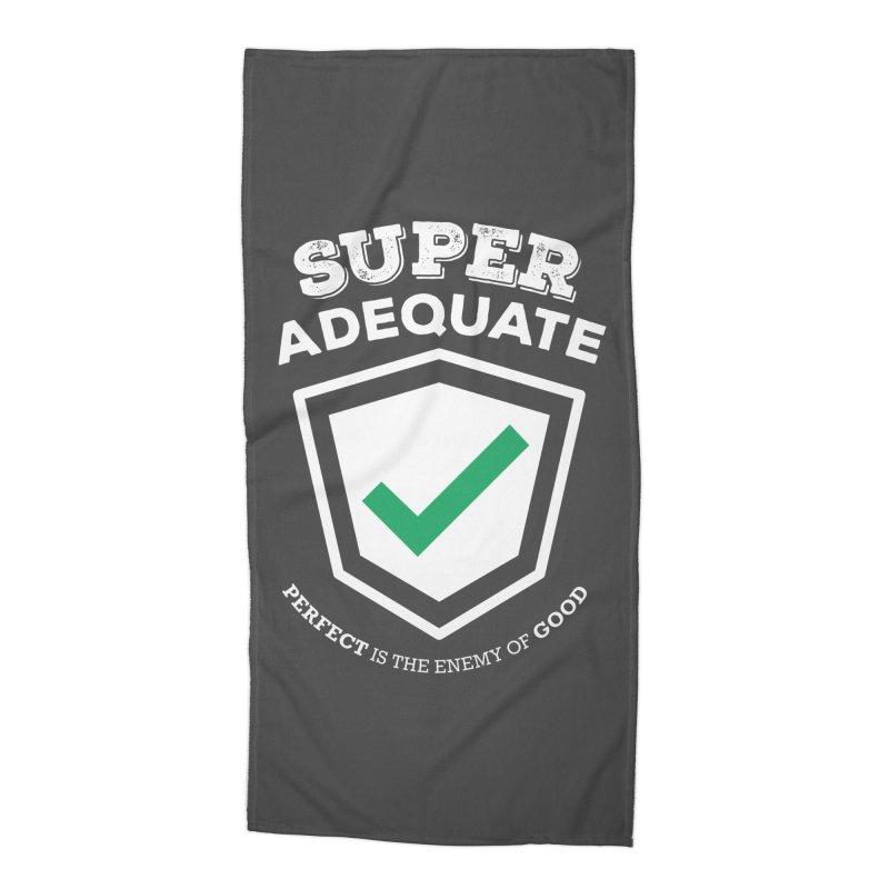 Super Adequate (light) Accessories Beach Towel by ashsans art & design shop