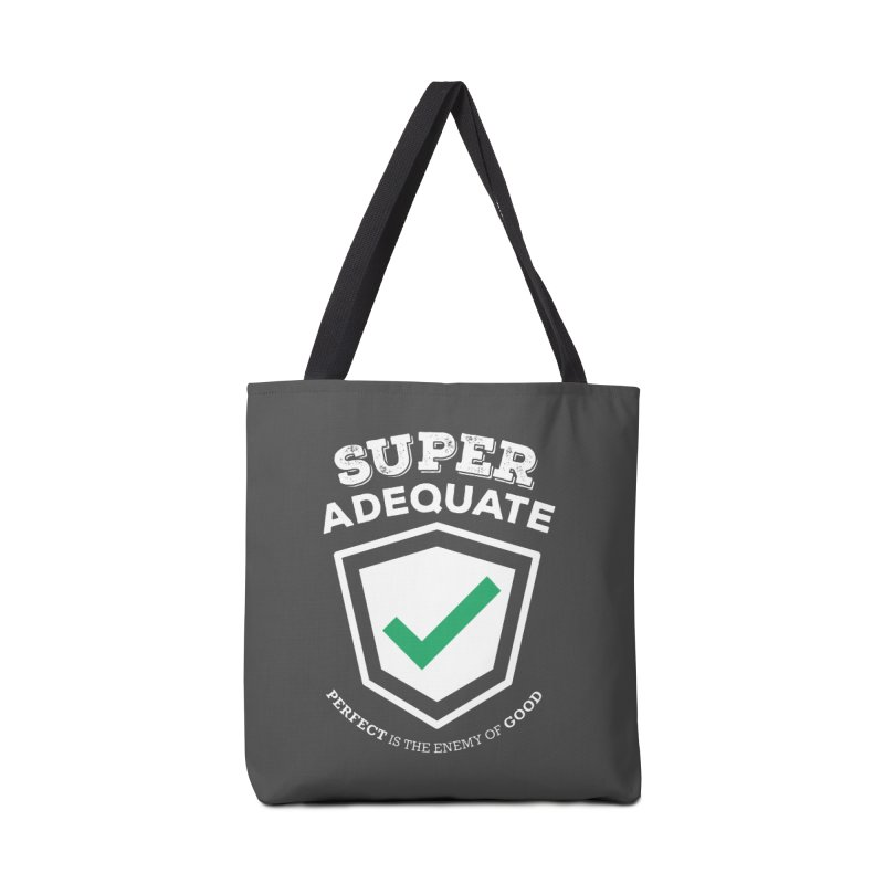 Super Adequate (light) Accessories Bag by ashsans art & design shop