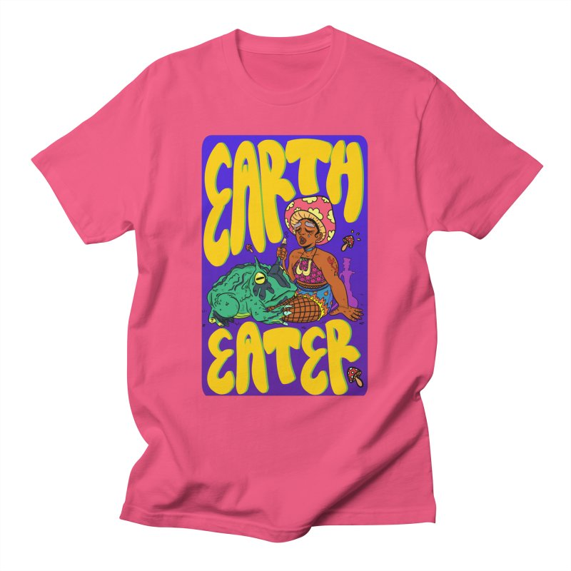 Earth Eater Men's T-Shirt by Art by Ash Walsh